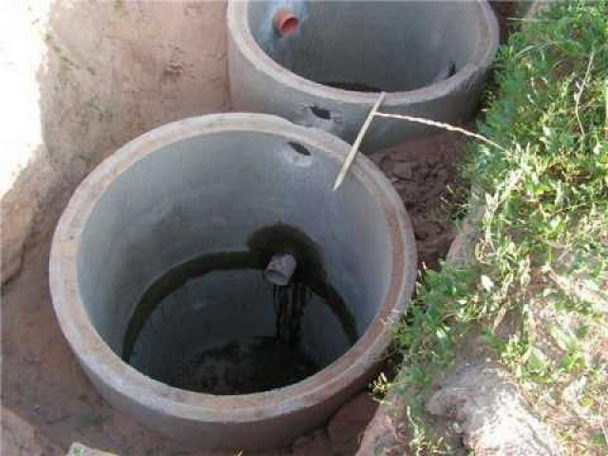 Сливная яма из бетонных колец своими руками